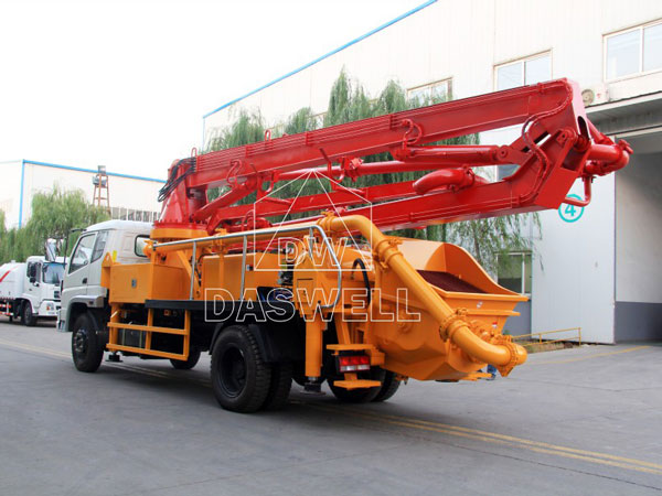 21m concrete pump truck for sale