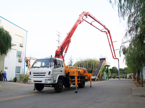 21m concrete pump truck machine