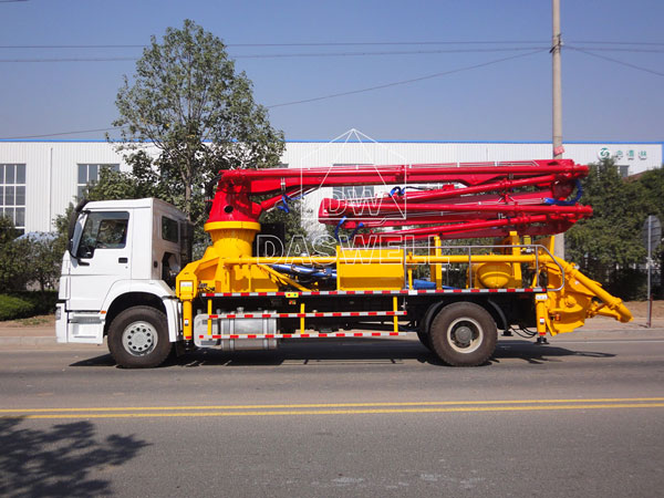 25m concrete pump truck for sale