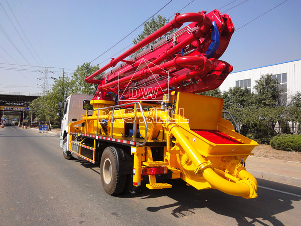 25m pump truck machine