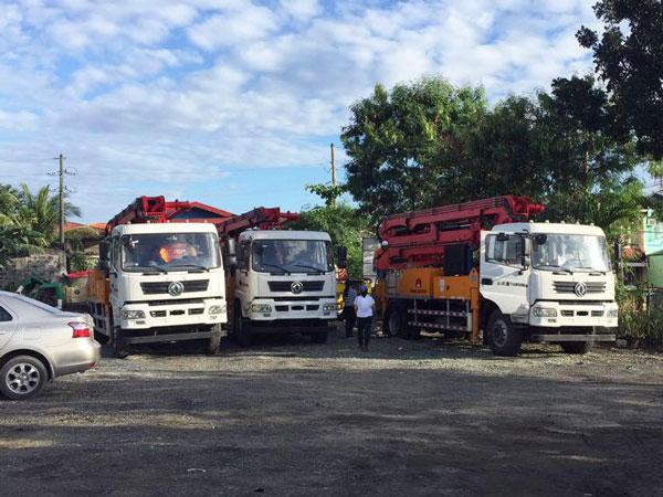 25m pumpcrete work for projects
