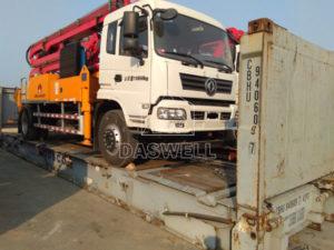 33m pump concrete truck