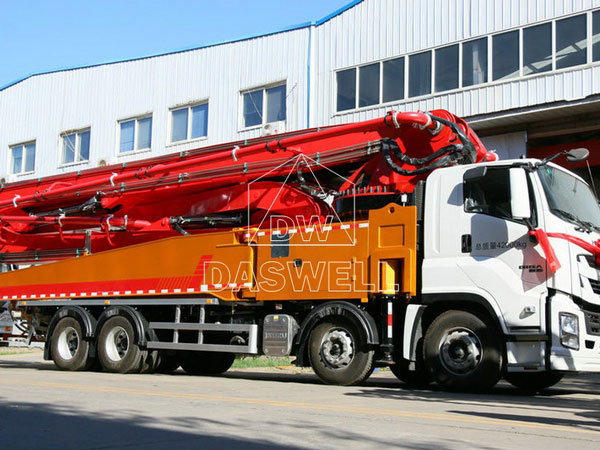 50m concrete pump truck for sale