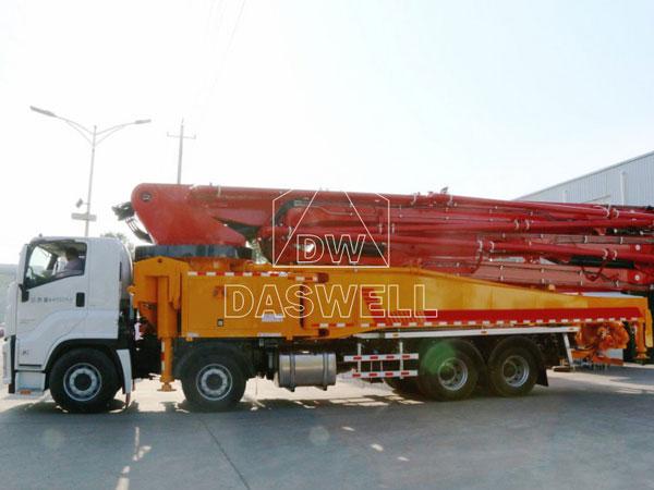58m concrete pump truck philippines