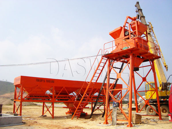 CBP35 mini concrete plant for sale