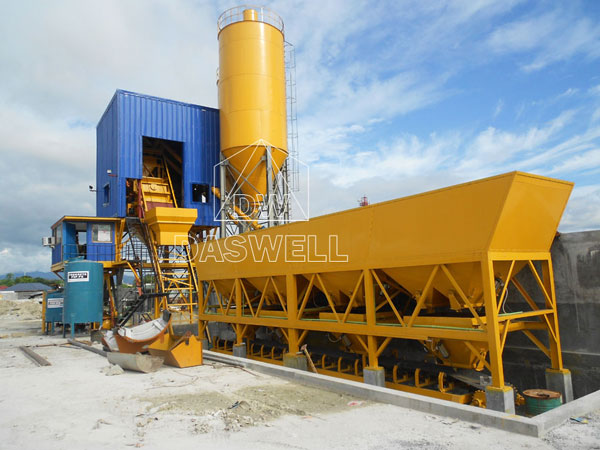 CBP35 mini concrete plant