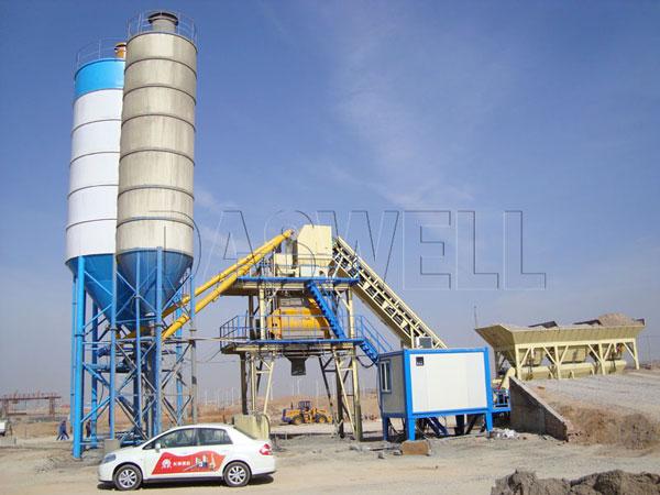 CBP60 small concrete plant
