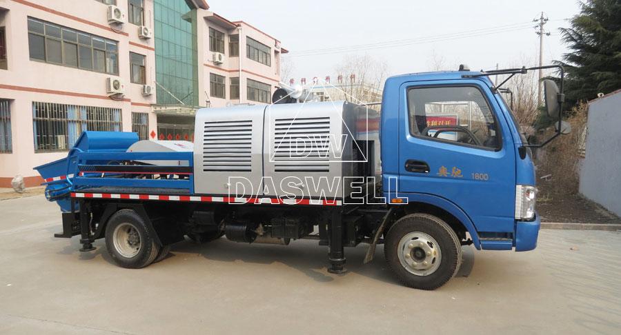 HBC60 concrete line pump truck for sale