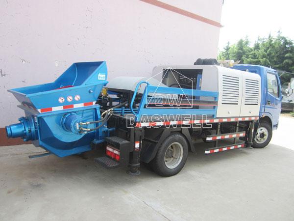 HBC60 concrete line pump truck machine