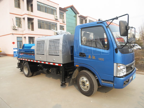 HBC60 truck mounted concrete pump for sale