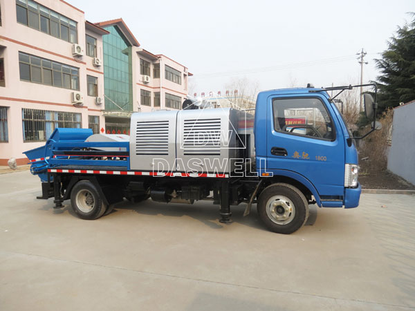 HBC60 truck mounted pump machine