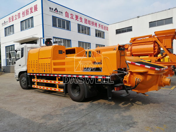 HBC90 concrete line pump truck for sale