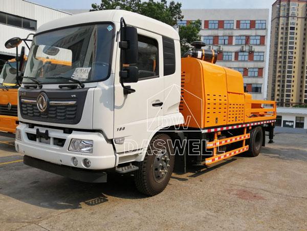 HBC90 line pump truck