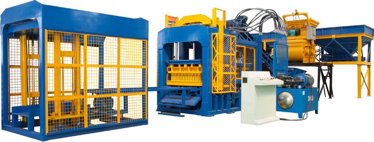 QT10-15 hollow block machine for sale