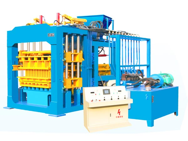 QT12-15 concrete brick manufacturing machine