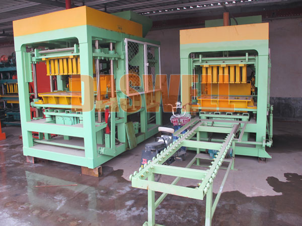 QT4-15 hollow block machine for sale