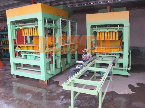 QT4-15 hollow block machine for sale