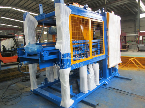 QT6-15 concrete brick equipment