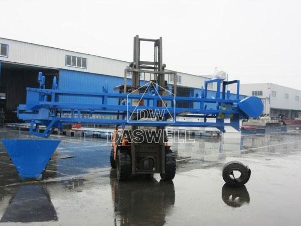 QT6-15 hollow brick block machine