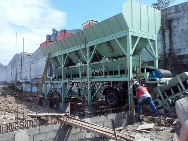 batching machine for concrete plant