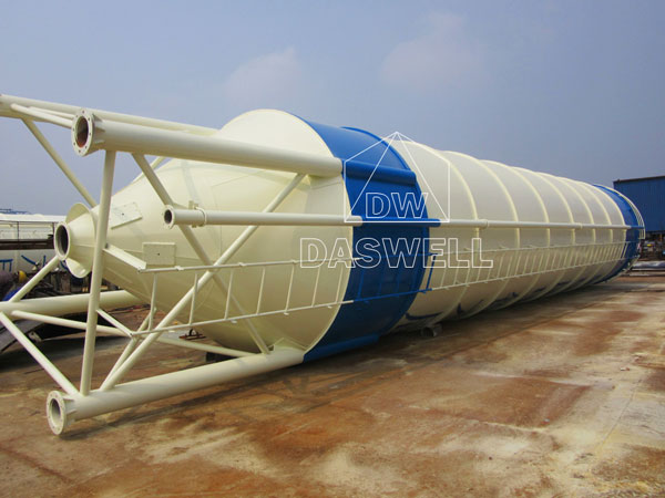 cement silo for small plant