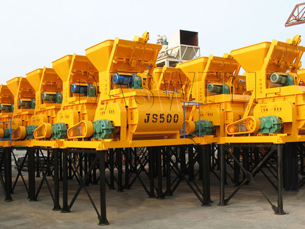concrete mixer factory