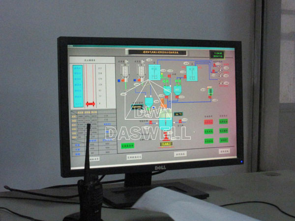 control computer of automatic brick machine