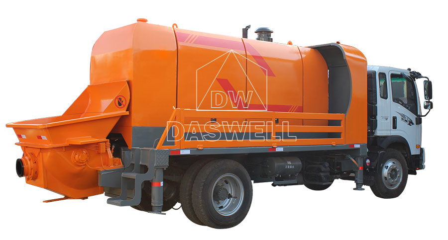 daswell truck mounted concrete pump for sale