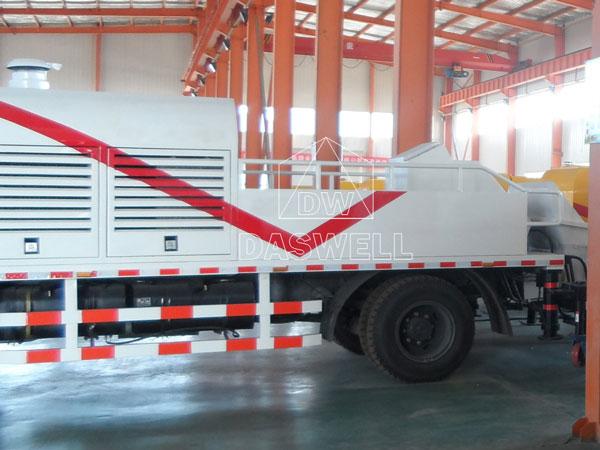 line pump truck