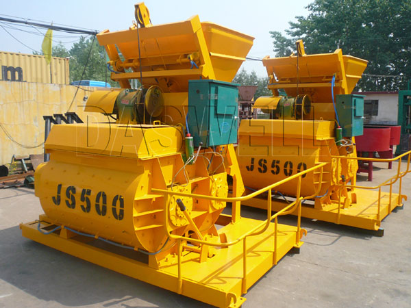 the concrete mixer machine