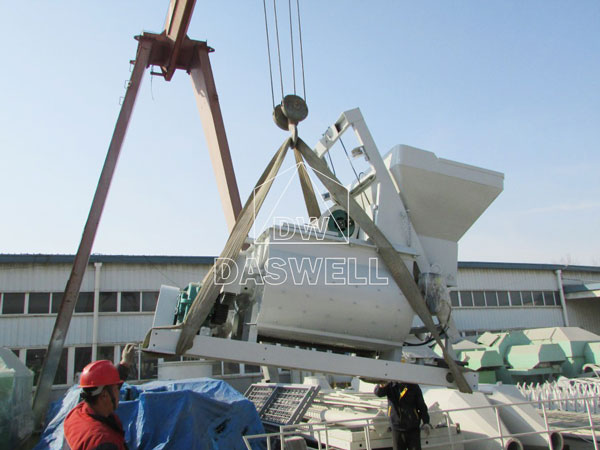 transportation concrete plant picture