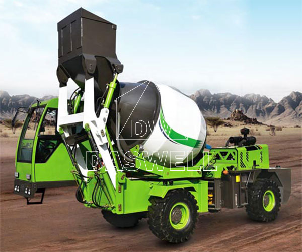 1.2m3 self loading concrete mixer for sale