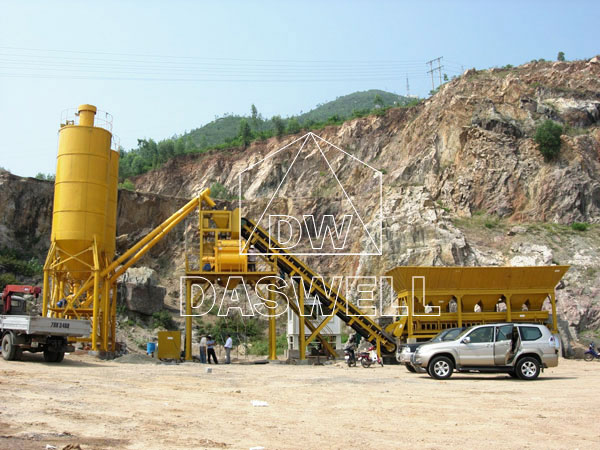 CBP60 ready mix concrete batching plant
