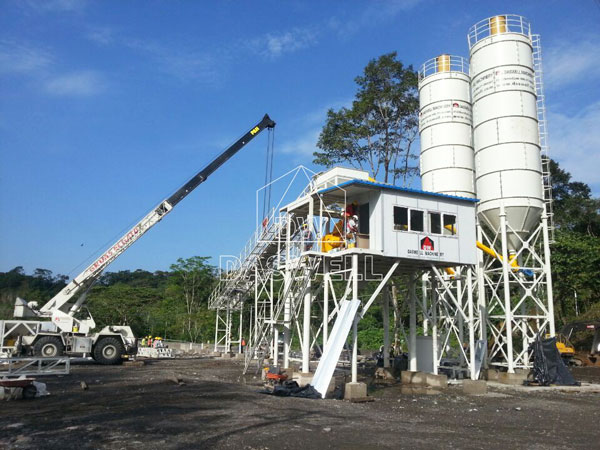 CBP90 ready mix concrete plant