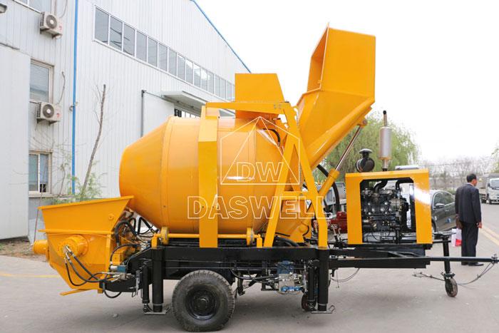 DHBT40 diesel concrete mixer and pump sale