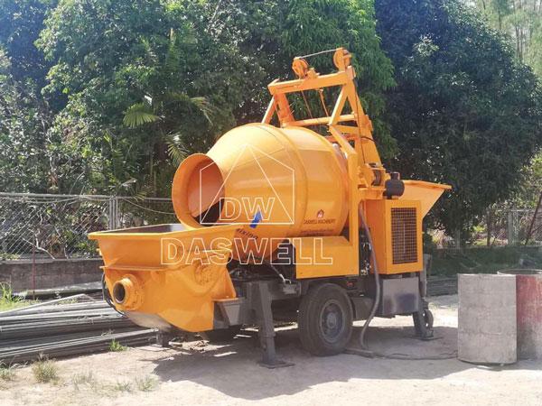 HBT40 concrete mixing pump
