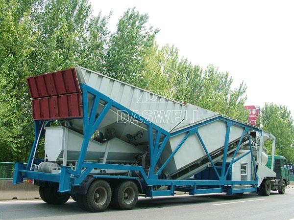 MCBP100 portable cement plant