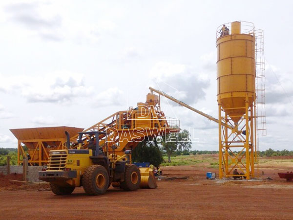 MCBP25 mobile type ready mix plant