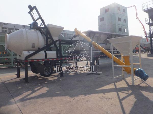 MCBP25A mixer concrete plant