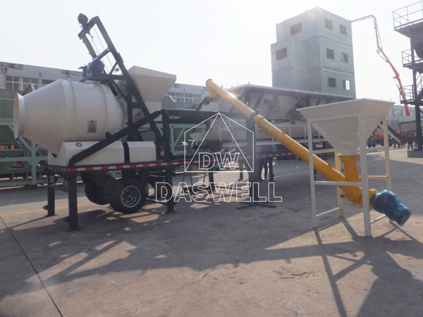 MCBP25A mobile ready mix concrete plant