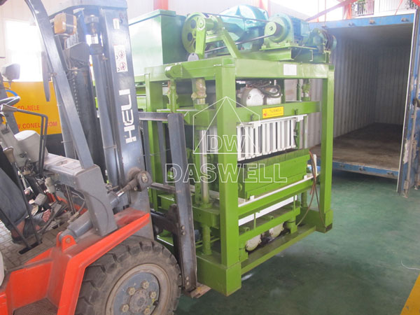 QTJ4-25 brick maker machine