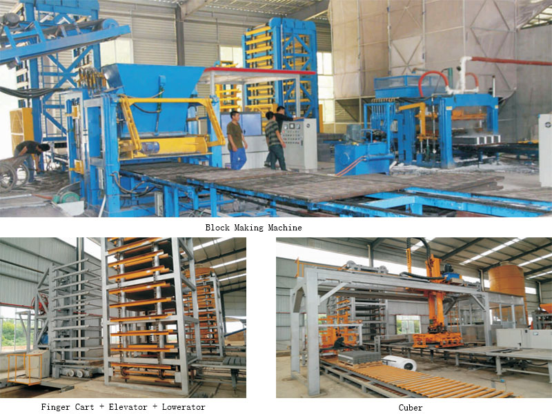 complete brick making production line