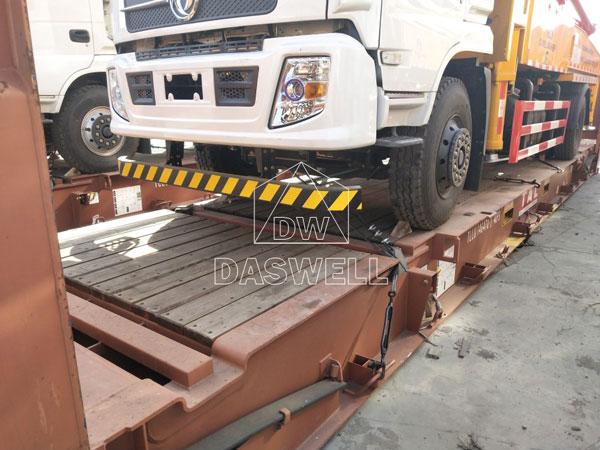 30m concrete pump truck machine