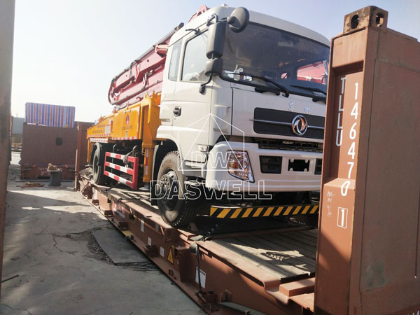 30m concrete pump truck sale