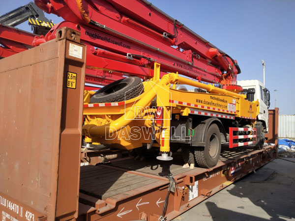 30m concrete pump truck
