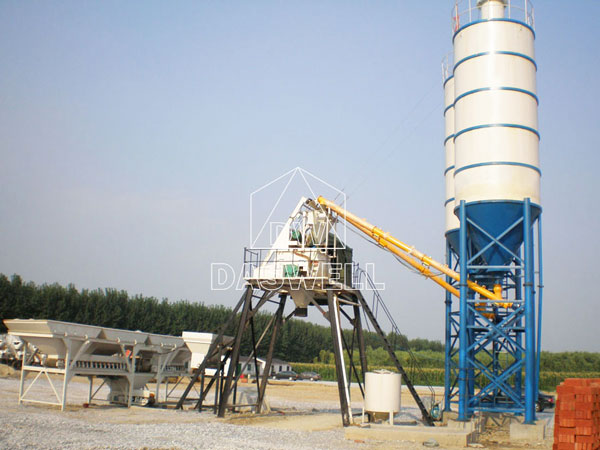 CBP50 concrete batch plant for sale