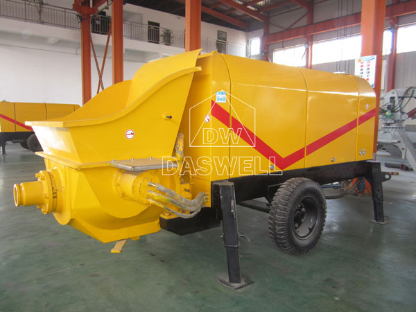 CPD40 small diesel concrete pump