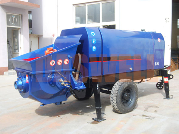 CPE30 portable concrete pump for sale