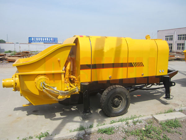 CPE60 small portable concrete pump