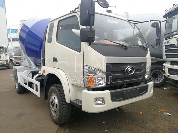 DW-4 ready mix concrete truck for sale